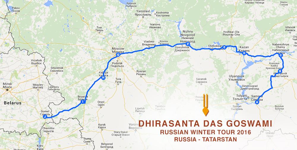 dhirasanta-goswami-russian-tour-map